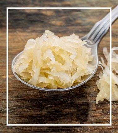 Immunsystem Sauerkraut