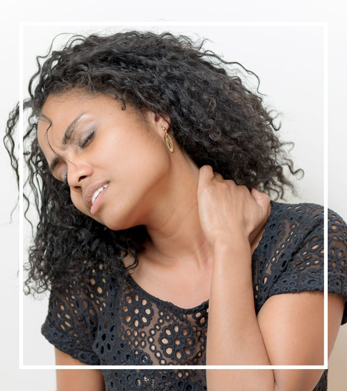 Nacken Rücken Verspannung